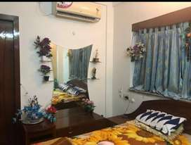 Fully furnished flat for rent at kaikhali, redy to move flat