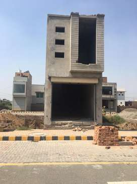 1.2 Marla Gray Structure Commercial Shop Available On Urgent Sale