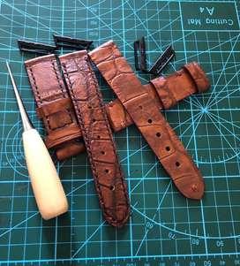 Strap/tali jam tangan dan apple watch custom handmade