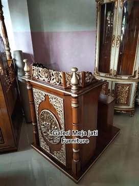 Mimbar masjid podium kursi New J362 kode