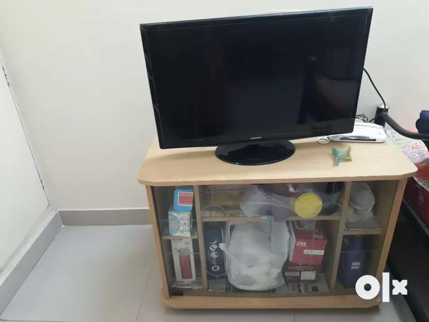 Wooden tv stand 0