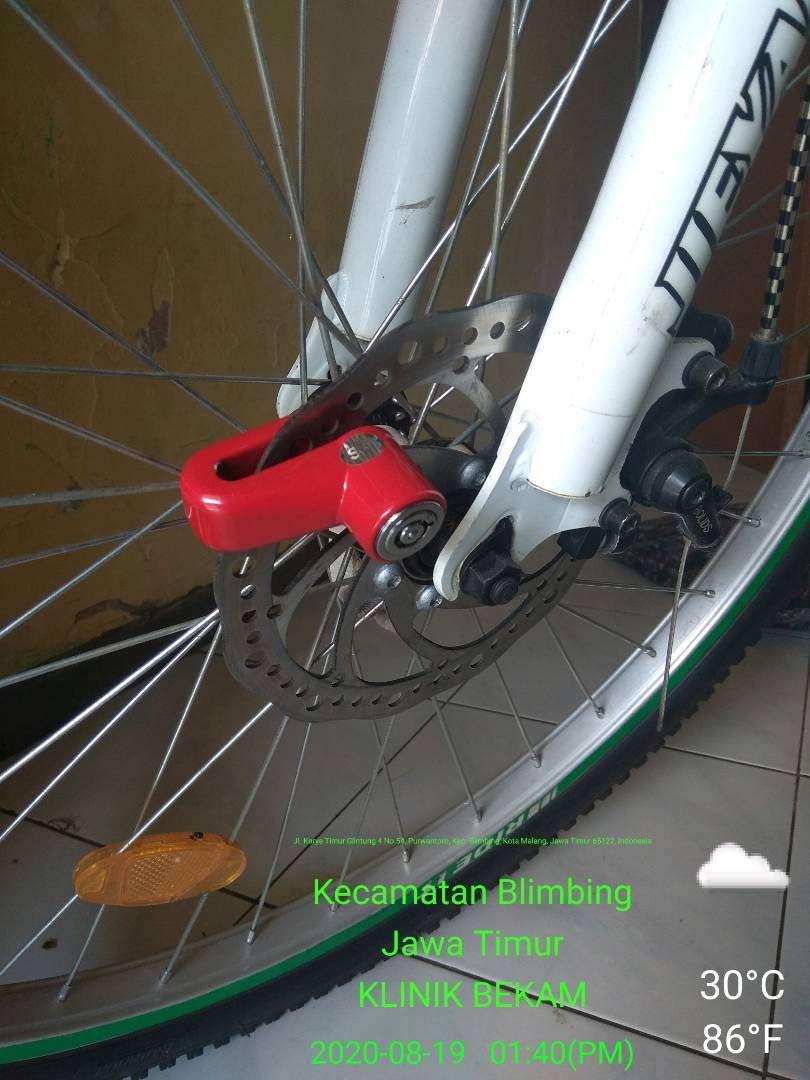 Sepeda pancal merk Jieyang