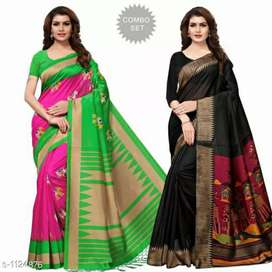 Offer 2 mysore silk saree 700 only. Free home delivery all over India