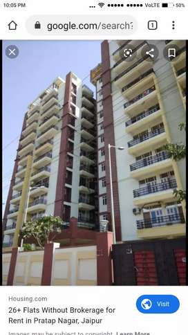 3BHK Semi Furnished New Flat in excellent condition and posh locality