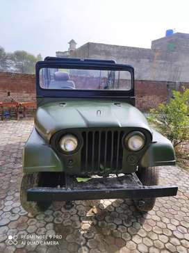 Jeep for sale m38a1 totally    azad kashmir number but copy lost