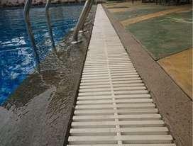gutter untuk kolam renang bahan lentur solideflex bekasi