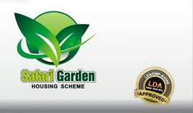 5 marla plot for sale in safari garden A 455 corner plot for sale