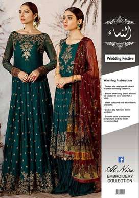 Al Nisa Embroided Collection