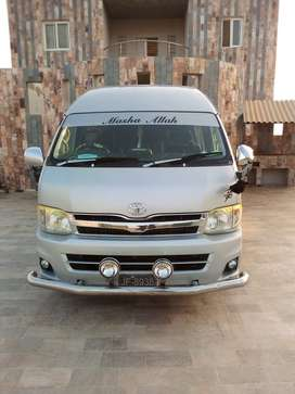 Toyota Hiace Grand Cabin Aviable For Rent..