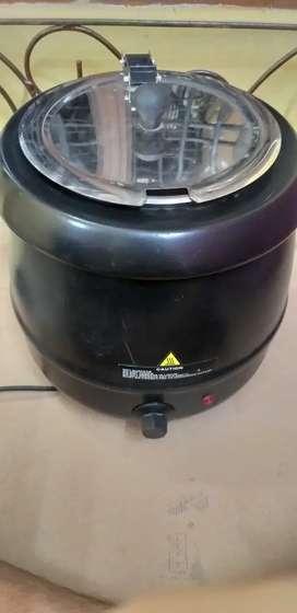 Electric soup pot 10 ltr