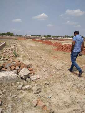 80% bank approved plot available amausi airport Kanpur road Lucknow