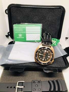 jam tangan steeldive bronze homage seiko 6105