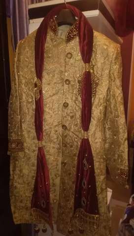 Heavy Sherwani in new condition