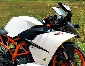Ktm rc side fairing and tank cover for sale