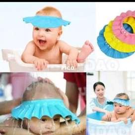 Topi keramas mandi bayi