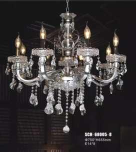 lampu gantung crystal -8