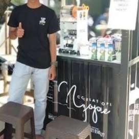 cicilan usaha ed kopi siap jualan promo booth container cuma hari ini
