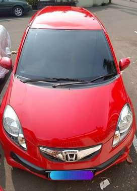 Brio 2014 Matic Merah Jaktim, milik pribadi