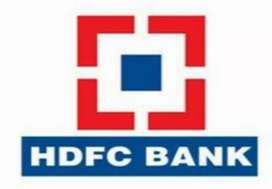 New Job For HDFC Bank.