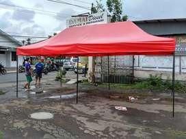 Setok tenda banyak brbagai jenis ukuran tenda