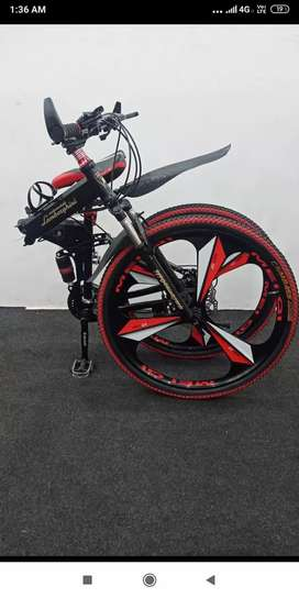 Bmw 21.gears foldable cycle