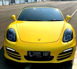 PORSCHE BOXSTER 2.7 PDK AT KUNING 2013 - UNIT SUPER ISTIMEWA
