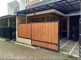 Pagar GRC desain rumah minimalis than air 0.3