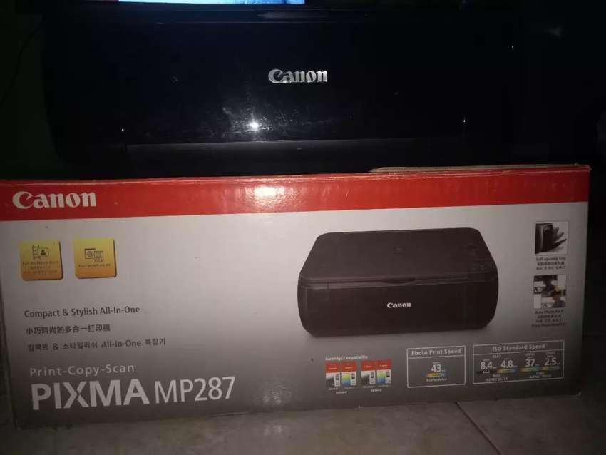 Dijual Cepat Printer Canon Pixma MP287 3in1 0