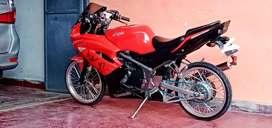 Kawasaki ninja new KRR 2013 plat Bandung