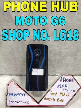 Moto G6 (4/64) Blue In Brand New Condition available here