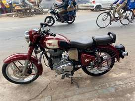 Classic 350 cc Single owner alloy head light