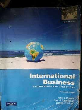 International Business-Environmental and Operation