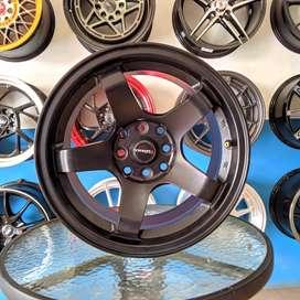 Nismo 15x7_8 H8 100 114.3 +25 untuk mobil BRIO XENIA--