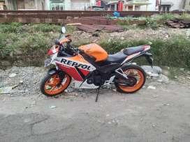 CBR 2015 Orange Mulus