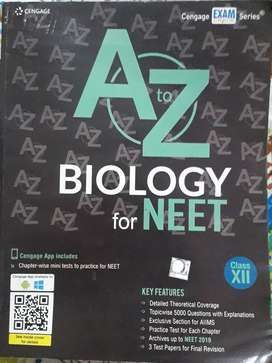 CENGAGE BIOLOGY FOR NEET CLASS 11&12