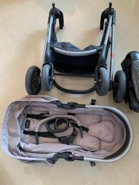 Evenflo Pivot Modular Travel system with safemax car seat Stroller US