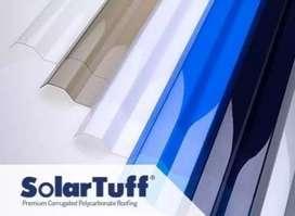 suplier atap polycarbonat,,upvc dan solarflat