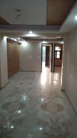 Newly constructed 3bhk 1st floor near metro station shahinbagh
