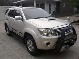 Toyota Fortuner G 2.5 Diesel MT 2007/2008 Silver Ors Istimewa Plat BE