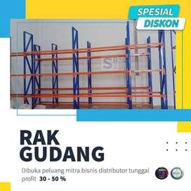 Rak Gudang / Rak Gondola / Rak Susun Murah