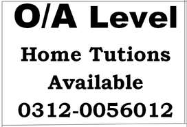 KG to 10th,As/A, O level 1-2-1. Classes & Home tuition /Online Classes