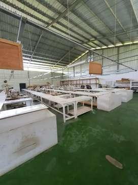 Dijual Cepat Pabrik di Solo Jawa Tengah