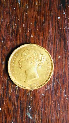 Gold mohur queen victoria