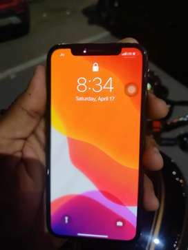 Iphone x 256gb black 88% Battery Health Mint condition No Scretch