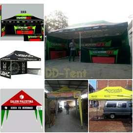 Paket Tenda Promosi, Tenda Lipat Premium