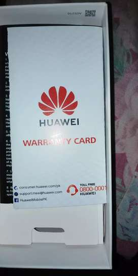 Huawei y6 prime 2019. With box