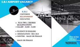 SBI AIRPORT VACANCY