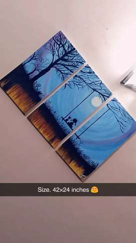 painting offer only in 3,000 for 20 days original available 3× 2 feet