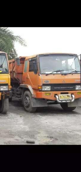 Dijual cepat BU! FUSO dump truck PS 220 4x2 engkel 6 roda