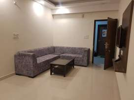 2 bhk flat with L shape balcony, hill view in Deecon valley